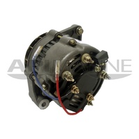 "Mando 12V, 65-AMP used on Mercruiser & Volvo with a 6-Groove Serpentine Pulley, 3-Wire Hook-up 2"" Mo"