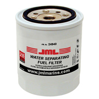 "JML Water Separator Fuel Filter, Spin On  4-7/16"" 28 Micron 35-60494-1"