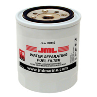 "JML Water Separator Fuel Filter, Spin On  4-7/16"" 10 Micron 35-802893T"