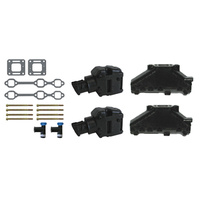 COMPLETE EXHAUST MANIFOLD SET V6
