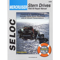 Mercruiser Stern Drives Repair Manual 92-00 #3206
