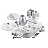 Bravo 3 Anode Kit 2004 & below, Zinc